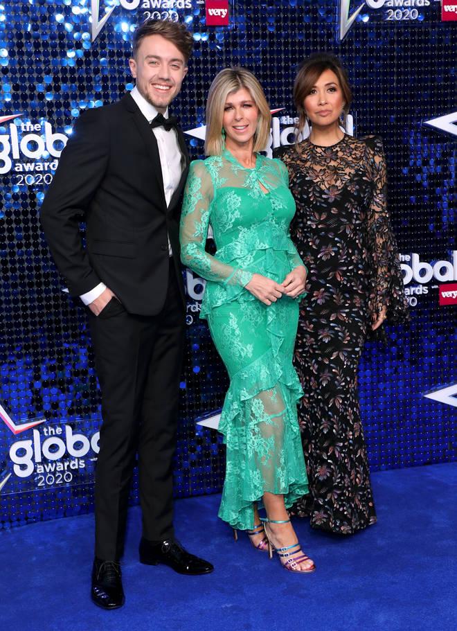 Roman, Kate and Myleene