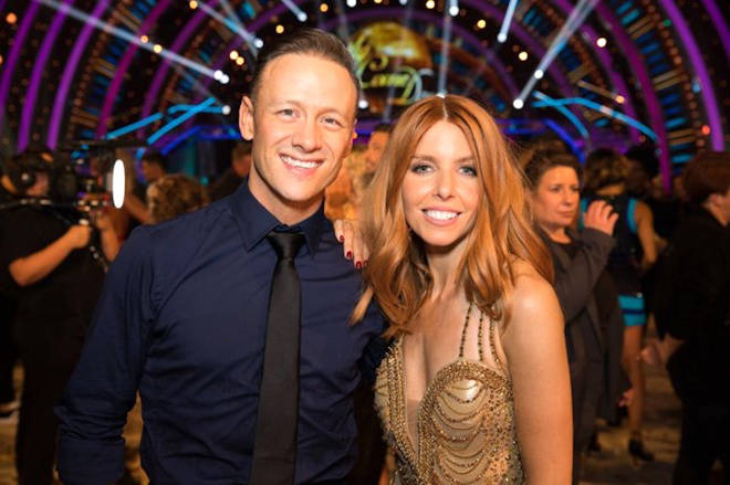 Kevin Clifton lifted the Glitterball with Stacey Dooley in 2018
