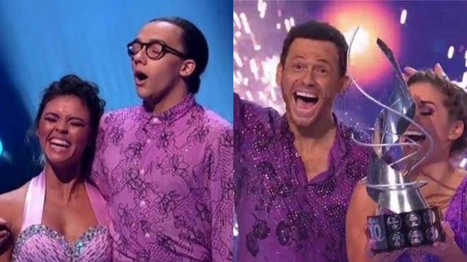 Joe Swash beat Perri Kiely in the Dancing on Ice final
