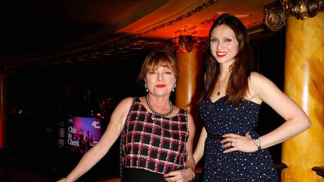 Janet Ellis with daughter Sophie Ellis-Bextor