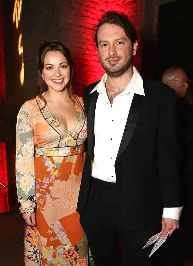 Charlotte Church and husband Jonathan Powell