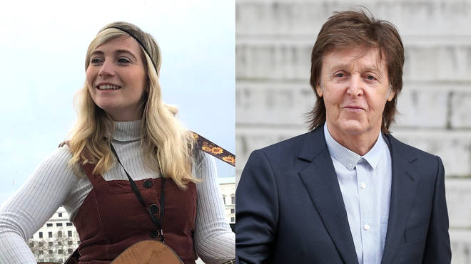 Charlotte Campbell was surprised by Paul McCartney