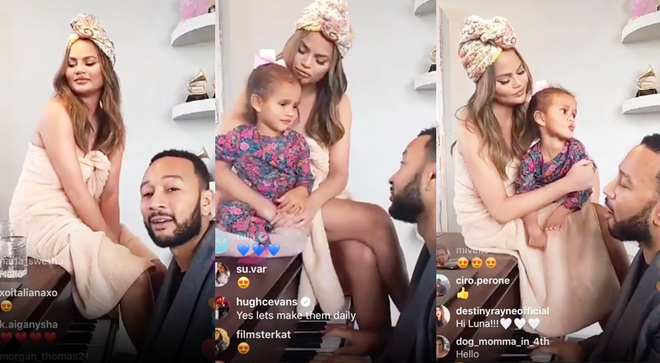 John Legend performed free concert on Instagram Live amidst coronavirus quarantining