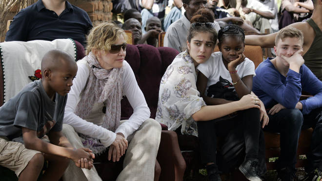 Madonna and her children