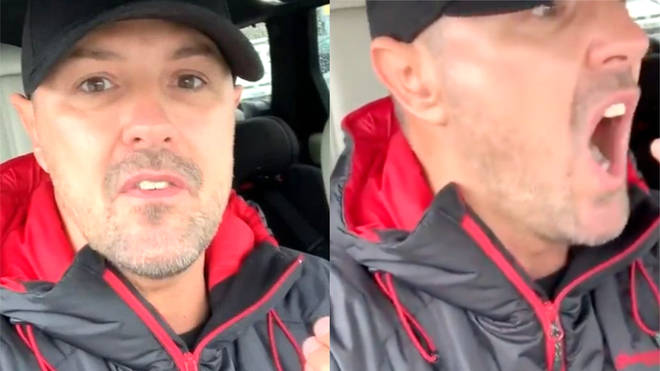 Paddy McGuinness is not happy