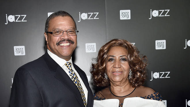 Aretha Franklin and her longtime partner Willie Wilkerson in 2015