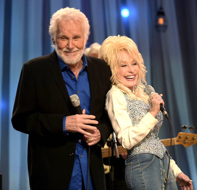 Kenny Rogers and Dolly Parton had a successful hit together, 'Islands in the Stream'