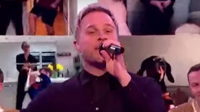 Olly Murs wowed TV audiences with a special performance of 'Dance With Me Tonight'