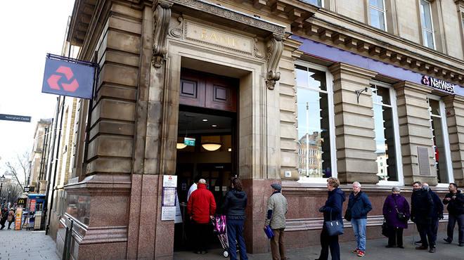 Banks will remain open during coronavirus lockdown