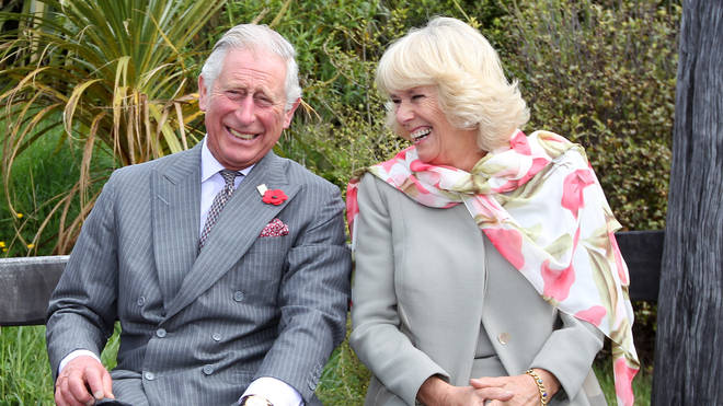 The Prince Of Wales & Duchess Of Cornwall