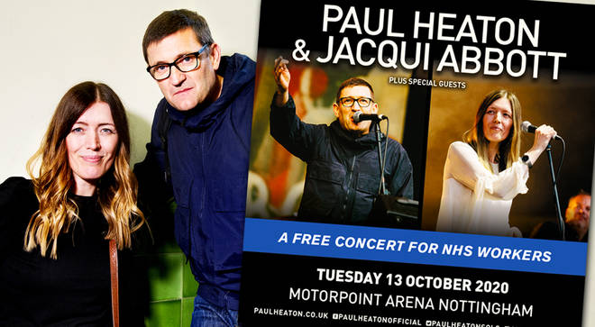 Paul Heaton and Jacqui Abbott to host free concert for NHS staff