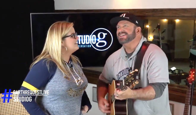 Garth Brooks and Trisha Yearwood team up for rendition of Lady Gaga and Bradley Cooper's 'Shallow'