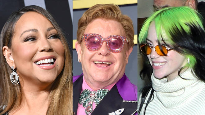 Elton John to host all-star coronavirus relief concert with Billie Eilish and Mariah Carey