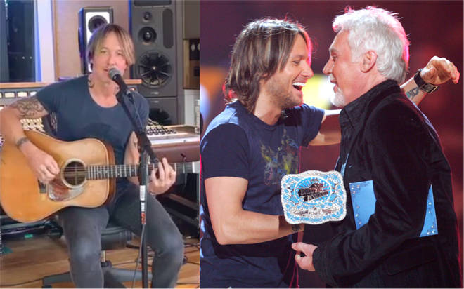 Keith Urban pays tribute to the late Kenny Rogers with 'The Gambler' performance