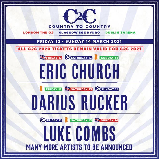 C2C 2021 lineup