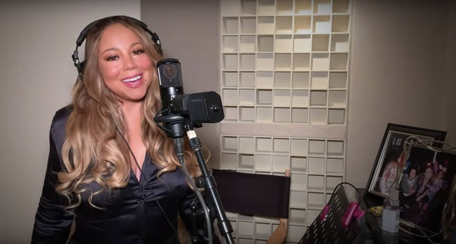 Mariah Carey joined other top artists to take part in the benefit concert