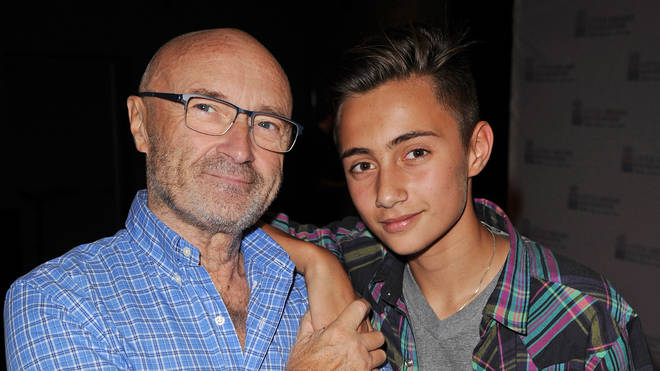 Phil Collins and son Nicholas