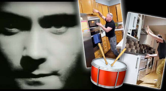 People are recreating Phil Collins' iconic 'In The Air Tonight' drums