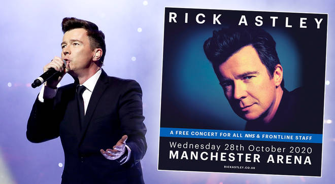Rick Astley to perform free concert for NHS, Primary Care and emergency service workers