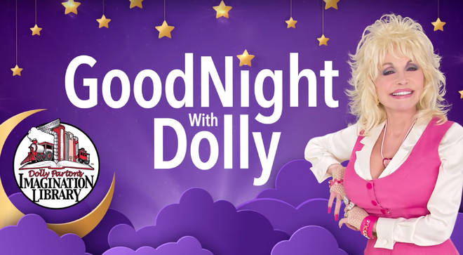 Dolly Parton will be reading children's bedtime stories in new weekly web series