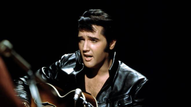 Elvis in 1968