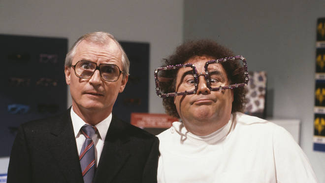 Syd Little and Eddie Large in 1989