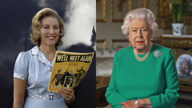 Vera Lynn's 'We'll Meet Again' was referenced by The Queen in 2020