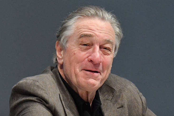 Actor Robert De Niro attends a press conference during the 17th Marrakech International Film Festival on December 2, 2018