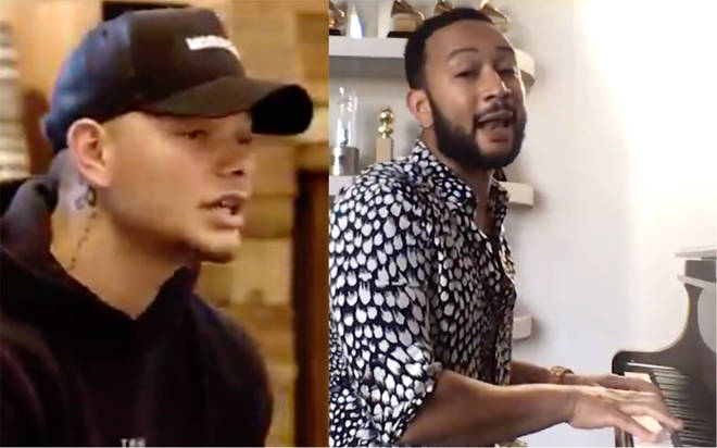 Kane Brown and John Legend perform first TV debut of 'Last Time I Say Sorry'