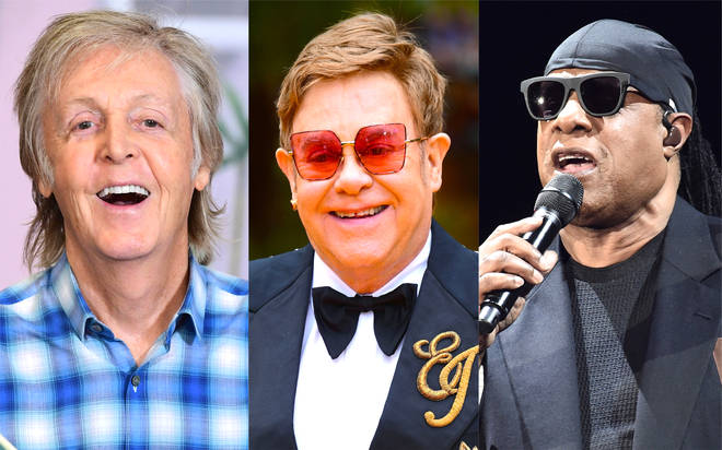 Sir Paul McCartney, Sir Elton John and Stevie Wonder are just three of the names taking part in the benefit concert