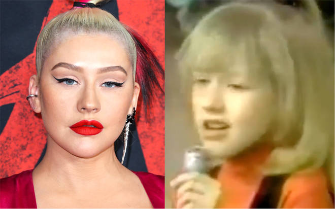 Christina Aguilera shares throwback clip of her singing Etta James aged 7