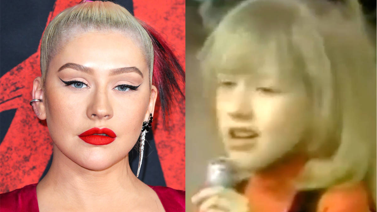 Christina Aguilera shares amazing throwback clip of her singing Etta James aged 7