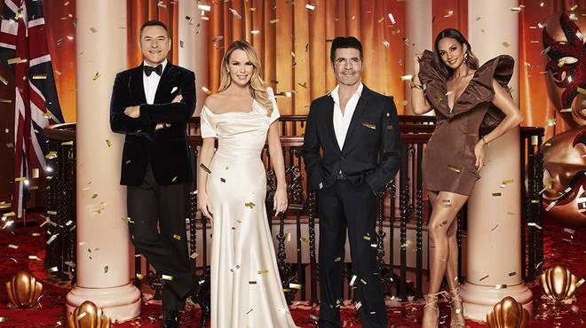 Alesha Dixon joins Amanda Holden, Simon Cowell and David Walliams on the BGT panel