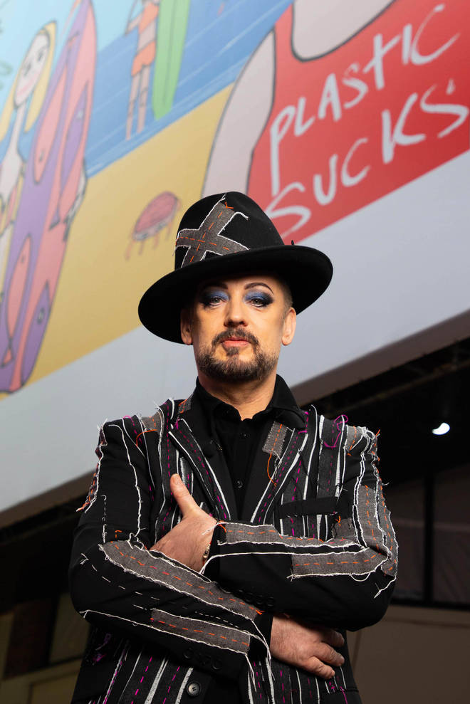 Boy George releases surprise new single 'Isolation' and album today