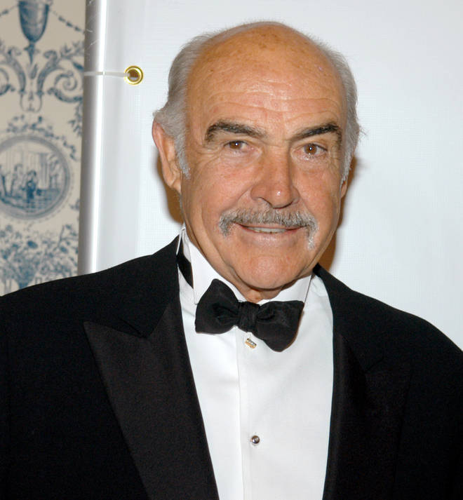 Sir Sean Connery is the 14th richest actor in the world