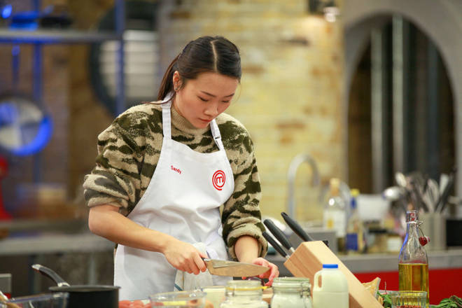 MasterChef UK 2020 contestant Sandy Tang