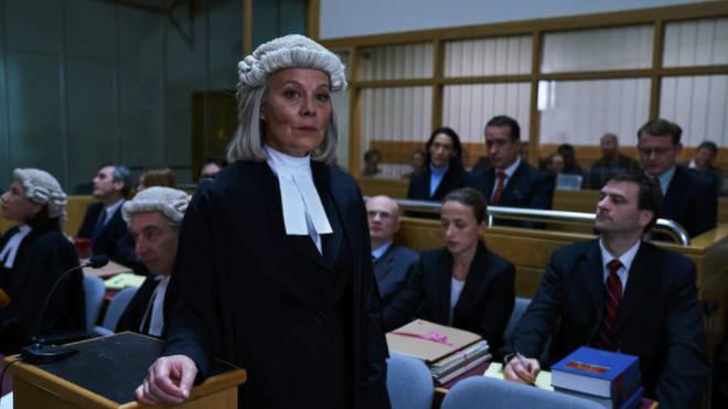 Helen McCrory as Sonia Woodley QC in Quiz