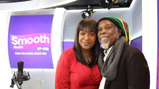 Billy Ocean and Angie Greaves
