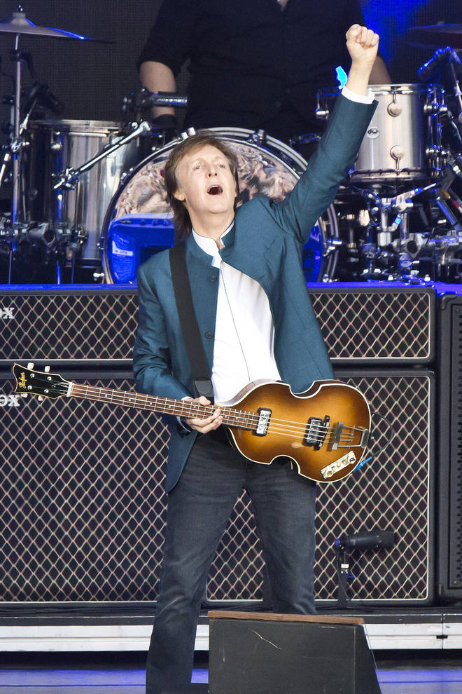 Paul McCartney Performs In Berlin