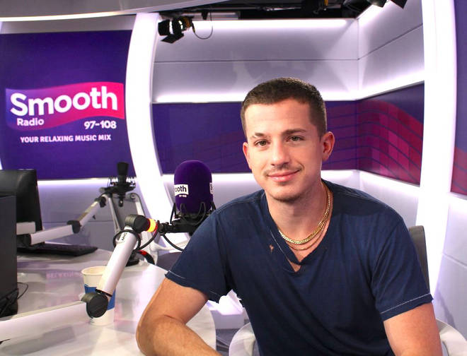 Charlie Puth in the Smooth Radio studio