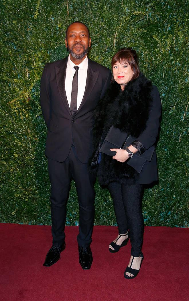 Lenny Henry and Lisa Makin