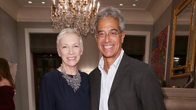 Annie Lennox and Mitch Besser in 2018