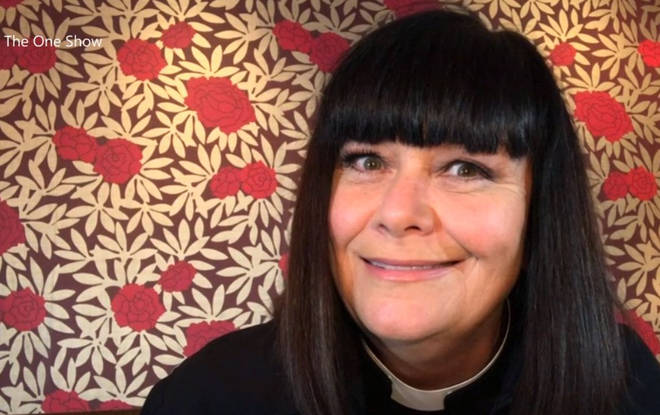 Vicar of Dibley returns as Dawn French reprises her role as Geraldine during lockdown