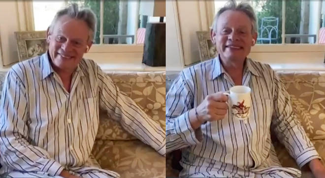 Martin Clunes went on Good Morning Britain in his pyjamas
