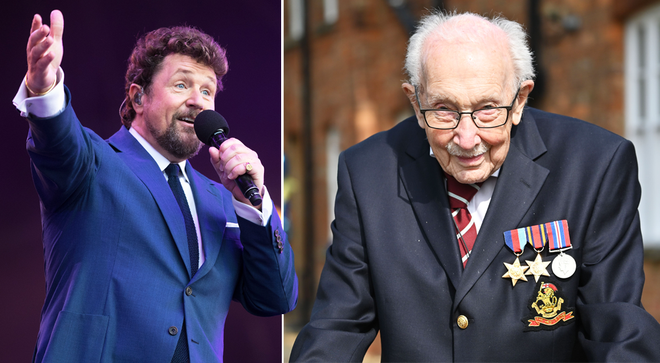Captain Tom Moore to perform at Britain's Got Talent final with Michael Ball, TV insider says