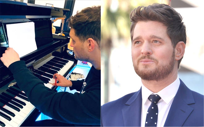 Michael Bublé confirms he is working on a brand new album