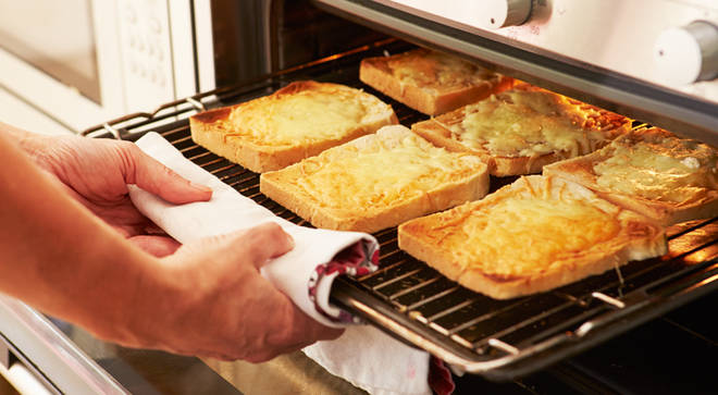 Cheese on toast named the number one snack during lockdown by Britons