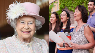 The nation is due to sing 'We'll Meet Again' after the Queen's VE Day speech