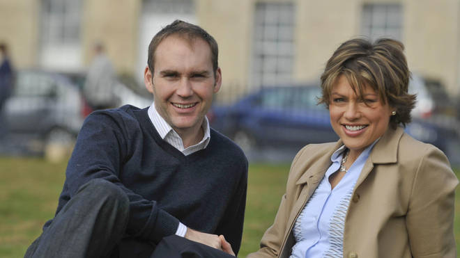 Kate Silverton and Mike Heron in 2009
