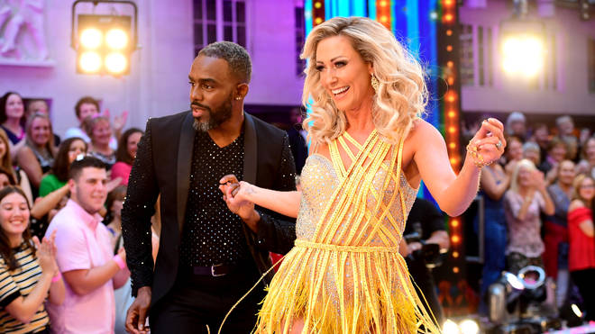 Charles Venn and Faye Tozer